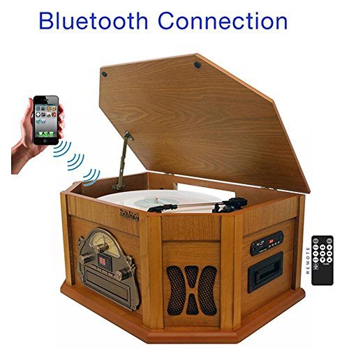 8-in-1 Boytone BT-25PW with Bluetooth Connection Natural woo