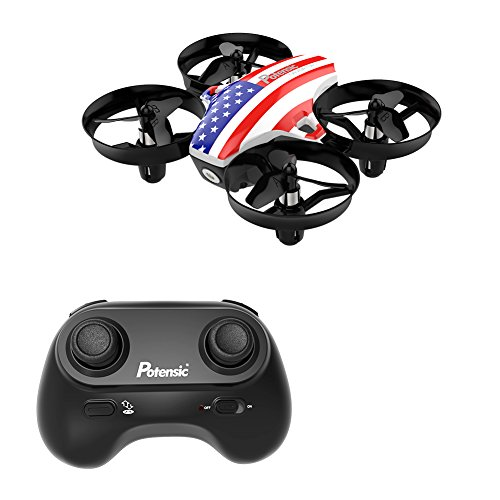 Potensic Mini A20 Altitude Hold Quadcopter Drone 2.4G 6 Axis Headless Mode Rem 6 Remote Control Nano Beginners