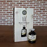 Cozymomo Essential Oil Reed Diffuser Gift Set, Bottle, Reed Sticks, Natural Scented Long Lasting Fragrance Oil for Aromatherapy and Air Freshener Home Spa (Butterfly Pea)