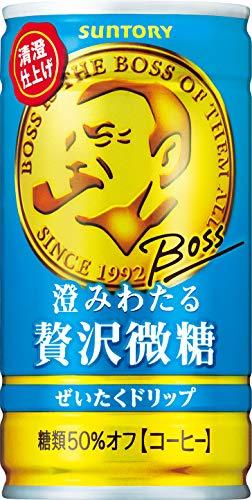 일본 산토리 보스 캔커피 산토리 보스 맑게 개인 호화미당 커피 185g×30개