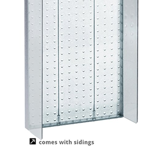 New Retails Clear Pegboard Powerwing Display 13.5''w x 22''high by Pegboard Powerwing Display