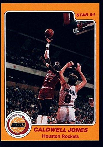 CALDWELL JONES $15+ MINT ROCKETS 1983-84 83-84 STAR CO. #77 HOUSTON 76ERS