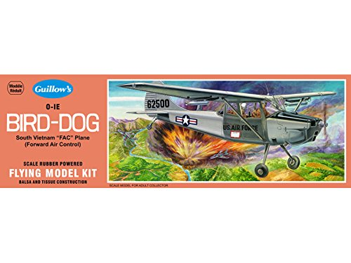 L19 Bird Dog - Guillow's Cessna O-1E Bird Dog Model Kit