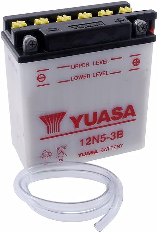 Batterie Yuasa 12n5 3b Inkl 7 50 Eur Batteriepfand Auto