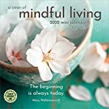 "A Year of Mindful Living 2020 Mini Wall Calendar (7"" x 7"", 7"" x 14"" open)"