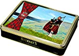 Stewarts Luxury Shortbread Tartan Collection - The Lone Piper 400g