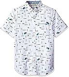 Original Penguin Men's Intermittent Paintbrush Shirt, Bright White, Extra Extra Large