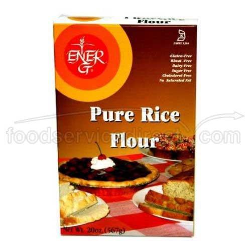 White Rice Flour Ener-G Foods 20 oz Box