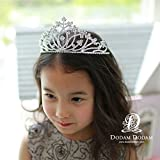 Generic d authentic Korean children flower girl headband baby hair accessories paternity Diamond diamond tiara crown tiara tiara hoop 16