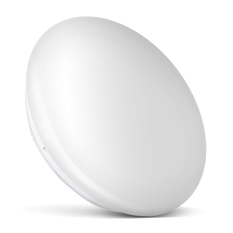 Albrillo LED Flush Mount Ceiling Light 18W, 120 Watt Equivalent, Indoor Outdoor LED Ceiling Light Fixture for Closet Hallway Pantry Garage Bathroom, 1400lm Daylight White 4000K