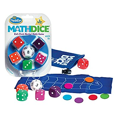 ThinkFun Math Dice Game for Boys and Girls