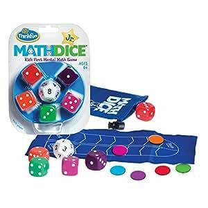ThinkFun Math Dice Jr. Game,Junior Games