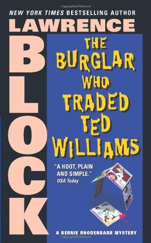 book cover of The Burglar Who Traded Ted Williams