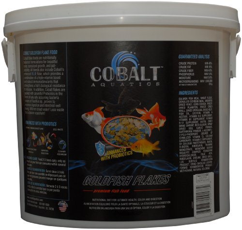 Cobalt Aquatics Goldfish Color Flake, 2 (Goldfish Aquatic Flake)