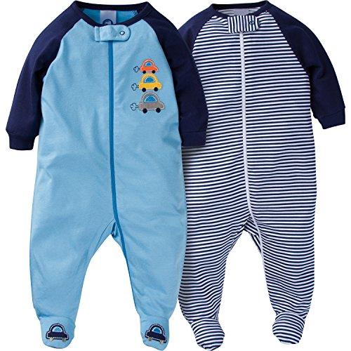 Gerber-Baby-Boys-2-Pack-Zip-Front-Sleep-n-Play