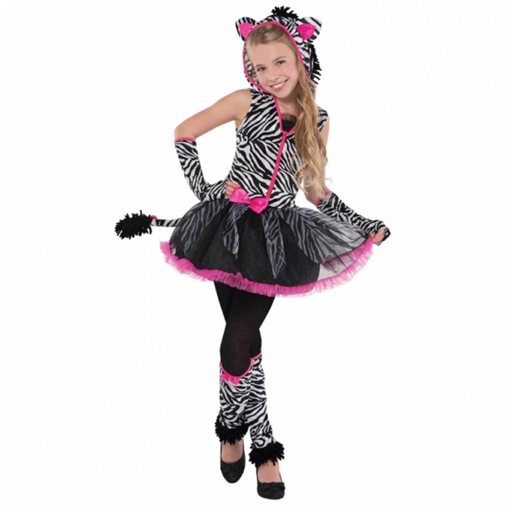 Christys - Disfraz para niña cebra, talla 12 - 14 años (997029): Amazon.es: Juguetes y juegos