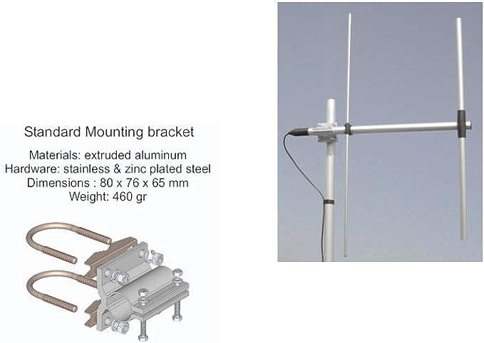 SIRIO WY155-2N Antena direccional 2 elementos YAGI VHF 155 ...