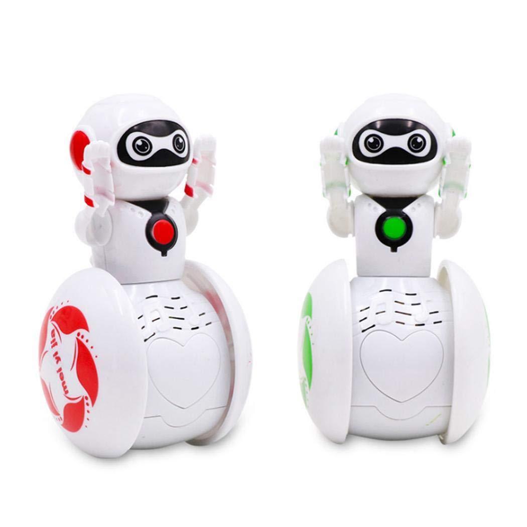 Oliote Mini Tumbler Robot Cartoon Multi Function Induction