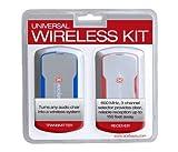 X Rocker Ace Bayou Wireless Retrofit System Grey W/Blue & Red