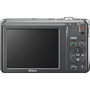 Nikon COOLPIX S3700 20.1 MP WiFi Digital Camera (8X Optical Zoom, Silver) (Certified Refurbished)
