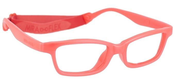 9c423dd66b Amazon.com  Miraflex MAYA Modified Eye Glass Frame w  Extended Heel 42 15  Red Pearl  Health   Personal Care