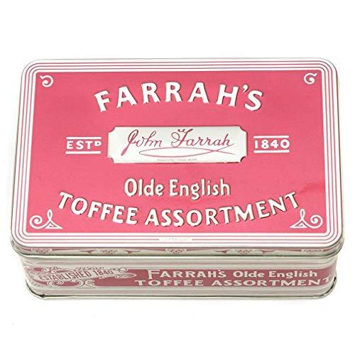 (Farrah's of Harrogate Toffee - 227g Olde English Assortment Tin Twin Pack)
