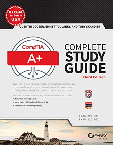 Sybex: CompTIA Complete Study Guide 3 Book Set: A+ ...