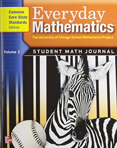 - Everyday Mathematics, Grade 3, Student Math Journal 2