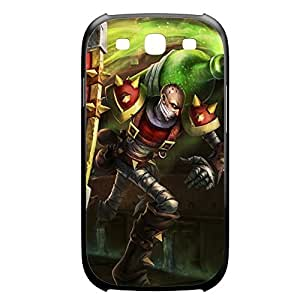 Singed-002 League of Legends LoL case cover for Samsung Galaxy S3, I9003 - Plastic Black