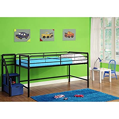 Dorel Home Products Junior Loft with Storage Steps
