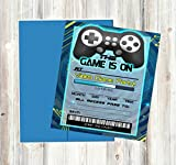 Video Game Themed Party Supplies for Your Gamer (Invitations)