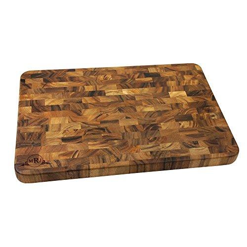 (Western Scroll Personalized Large End Grain Cutting Board | BBQ Fans)