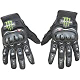 Fashion Cool Men Motorcycle Gloves Cycling Bike Bicycle Full Finger Sports Protective Summer Breathable Racing Gloves