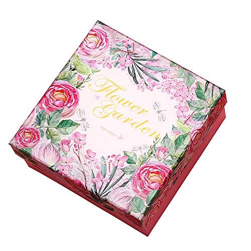 HXX Caja De Regalo De Planta Rosa Caja Cumpleaños 25 * 20 ...