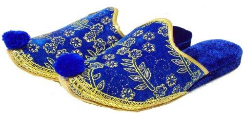 Slippers 'Çarik' Ottoman Ottoman Blue Style Slippers Blue Ottoman Style Style Slippers 'Çarik' xBzqwSaf