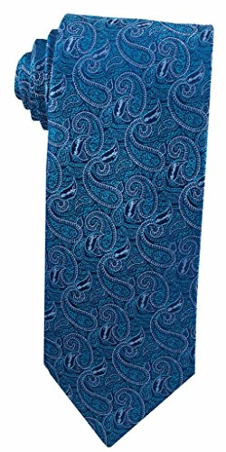 Angel Paisley (Angel Moroni Teal Paisley Tie for Men)