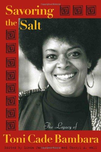 Books : Savoring the Salt: The Legacy of Toni Cade Bambara
