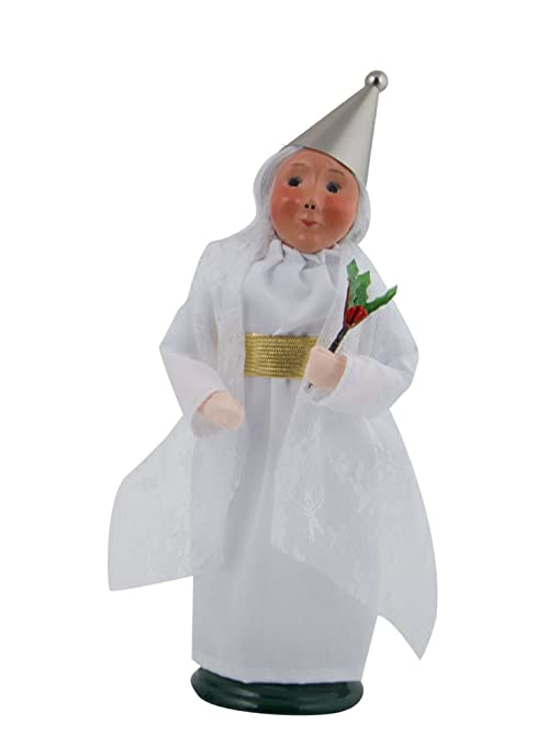 Spirit Of Christmas Past Costume.Byers Choice Spirit Of Christmas Past Caroler Figurine 2116a From A Christmas Carol