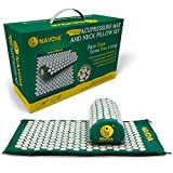 Best Back Pain Acupuncture Mats - Nayoya Back and Neck Pain Relief - Acupressure Review