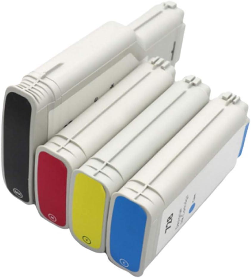 Cartucho de tinta Hp728 para impresora HP Designjet T830 T730 Plotter Ink F9j68a, color negro, 300 ml, 130 ml, color negro size: Amazon.es: Oficina y papelería
