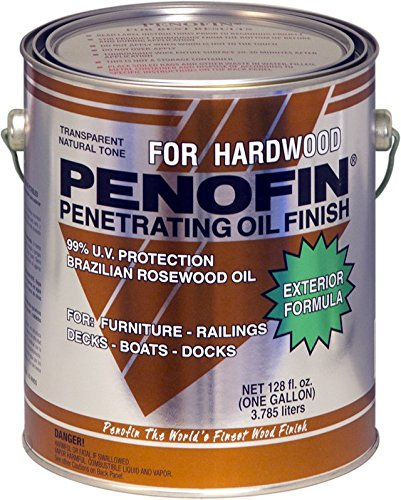 Penofin Deep Penetrating Oil Treatment for Exotic Hardwood Exterior, Wood Stain IPE Finish (1 Gallon) ()