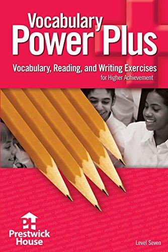 Vocabulary Power Plus Level Seven pdf epub