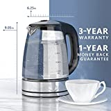 Variable Temperature Electric Kettle, Upgraded