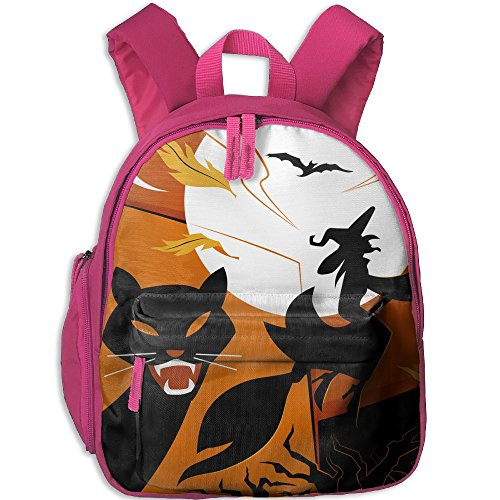 Halloween Hot Sale Child Shoulder School Bag School Backpack Satchel For Teens Boys Girls Students (Parks And Recreation Halloween Gif)