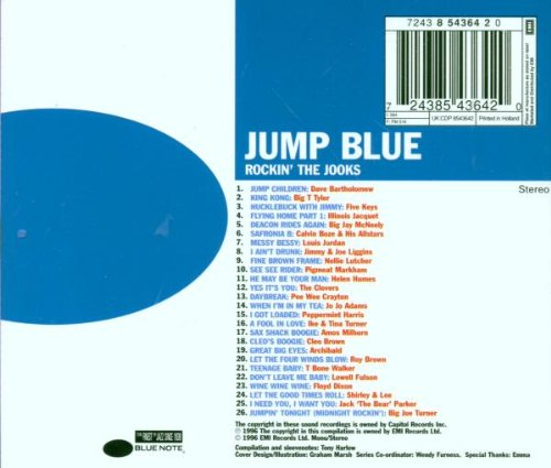 Jump Blue: Rockin' the Jooks by Blue Note Records