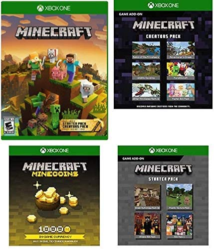 Amazon com: Minecraft Master Collection Xbox One 4 Download