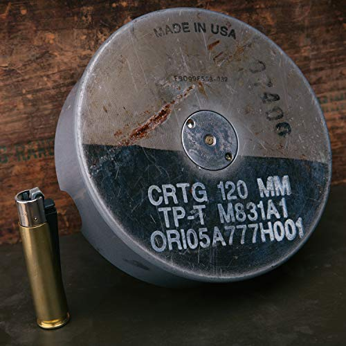 ABRAMS TANK 120MM ASHTRAY by Lucky Shot (Image #1)