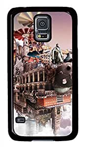 Cloudscape 5 Black Hard Case Cover Skin For Samsung Galaxy S5 I9600