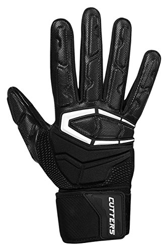 Cutters Gloves S932 Force 3.0 Lineman Gloves, Black, Large