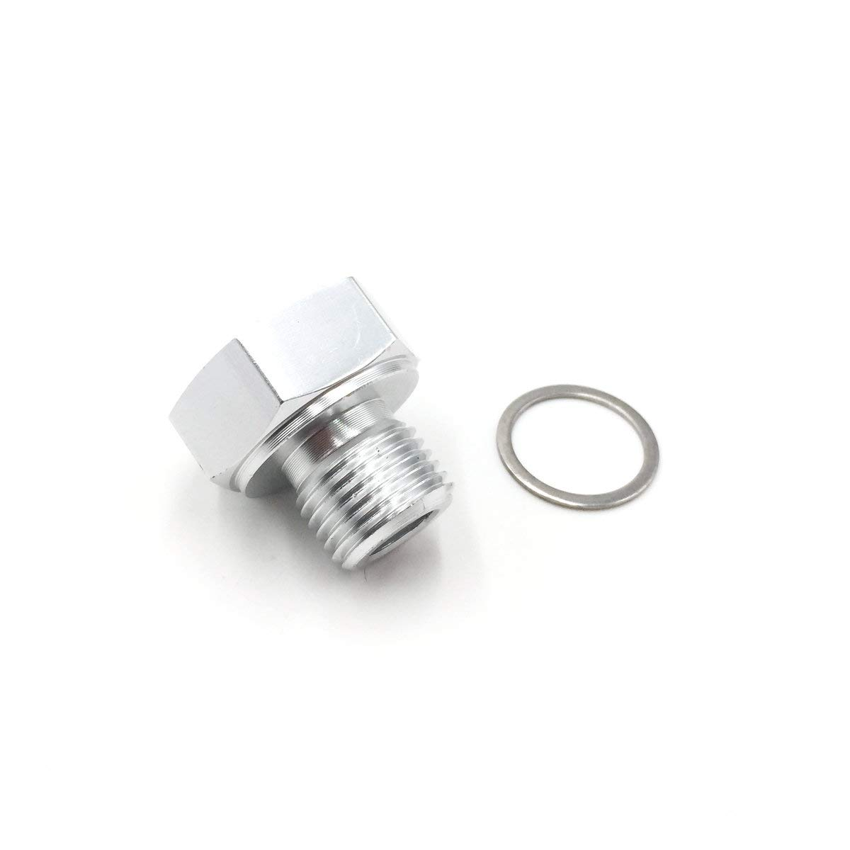 Amazon com: AIPICO Oil Pressure Sensor Adapter 1/8 NPT